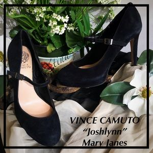 VINCE CAMUTO Joshlynn Mary Jane Dress Heels